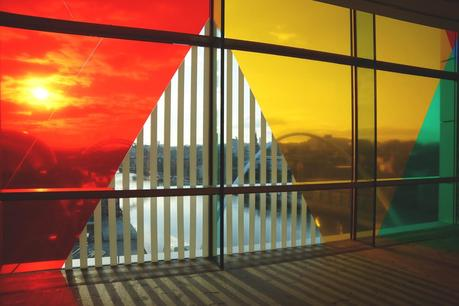 Hello Freckles Daniel Buren Baltic Gateshead Review View