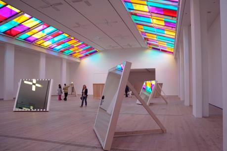Hello Freckles Daniel Buren Baltic Gateshead Exhibition Space