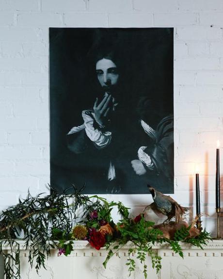 Spooky Halloween art decor (free!)