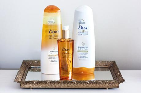 Healing My Hair // Dove Pure Care Dry Oil
