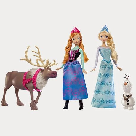 Half Price On Disney Frozen 4 Character Gift Box