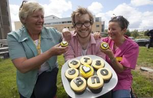 James Morton bake it for the Beatson Glasgow