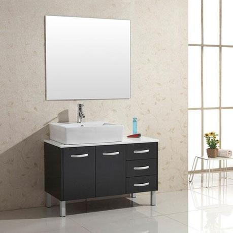 Tilda Rubberwood Bath Vanity