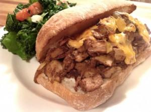 Vegan-Jackfruit-Philly-Cheesesteak-Sandwich-460x343