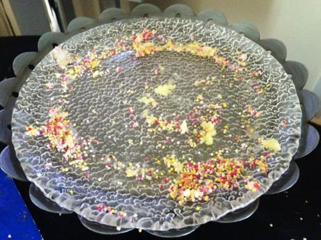empty cake plate ccc