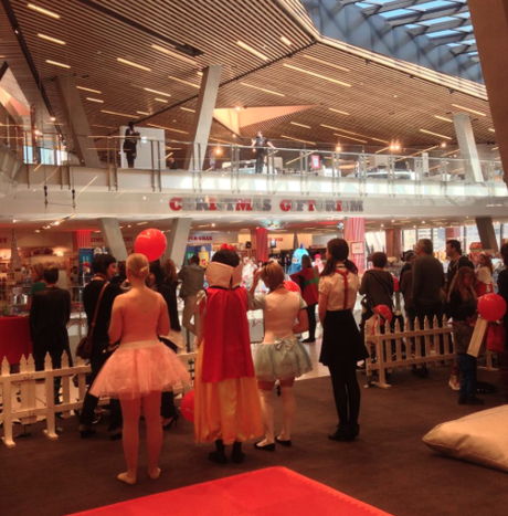 Myer Christmas GIFTORIUM opens its doors today