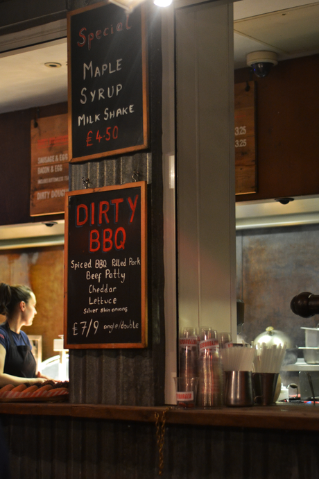 London Food Ideas: Dirty Burger, Kentish Town