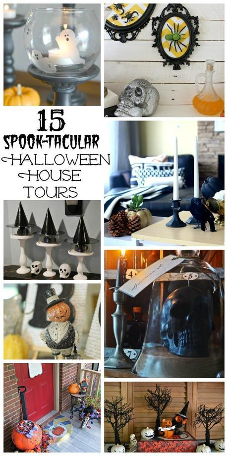 15 Spook-tacular Halloween House Tours collage 2