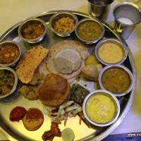 The Thali in all its glory