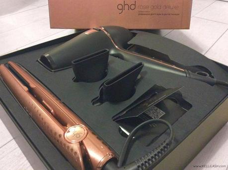 GHD Rose Gold Deluxe Limited Edition Set