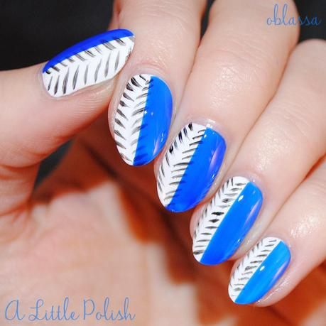 The Nail Challenge Collaborative Presents - Stripes - Look 2