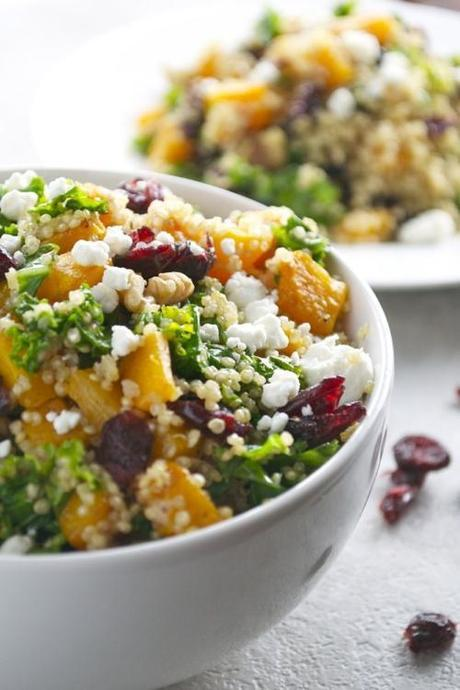 quinoa-with-squash-kale-cranberries