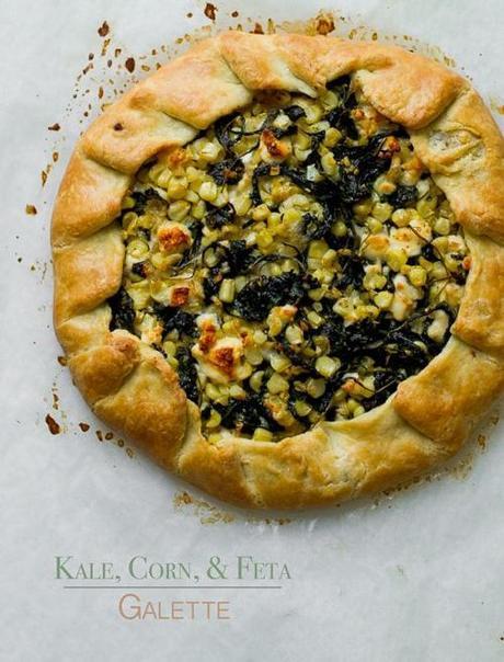 kale-corn-feta-galette