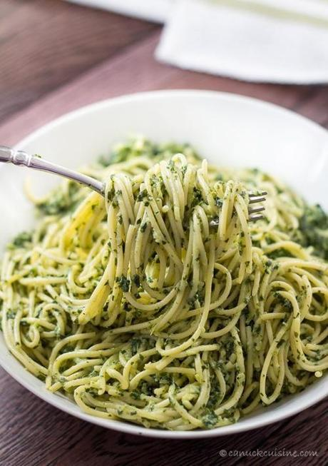 spaghettini-with-creamy-kale