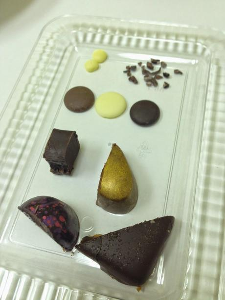 Wine and Chocolate Paring at Chocolate Therapy