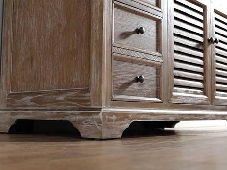 Bathroom Vanities With Louvered Shutter Style Doors Paperblog - Louvered door bathroom vanity