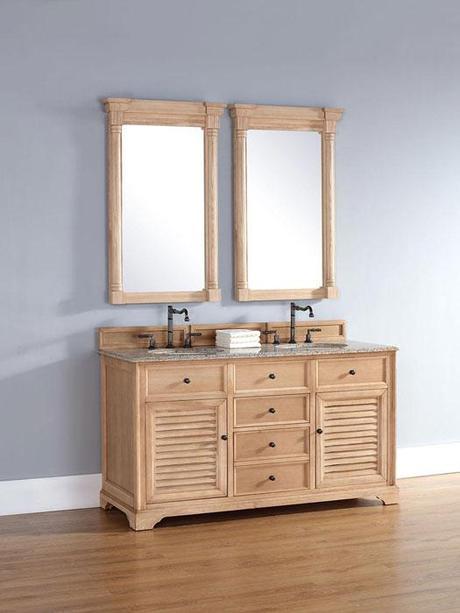 Bathroom Vanities With Louvered Shutter Style Doors