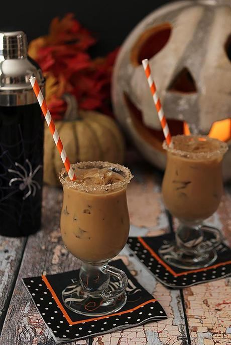The Halloween Express – Rum, Espresso, Maple Syrup and Half and Half
