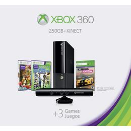 Microsoft - Xbox 360 Black 250GB Console - Kinect Holiday Bundle (Xbox 360)