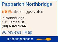 Papparich Northbridge on Urbanspoon