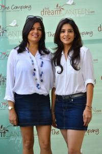 Meghan Kapur and Elisha Suri - Founders - thedreamcanteen.com