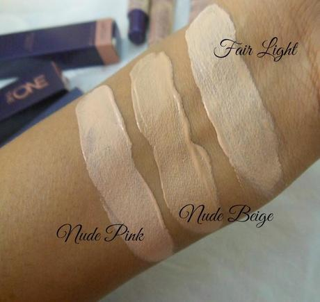 Oriflame The ONE Illuskin Concealer Nude Beige : Review, Swatches