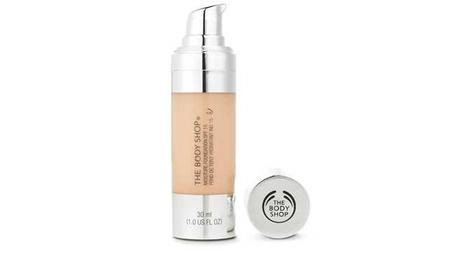 The Body Shop Moisture Foundation with SPF 15