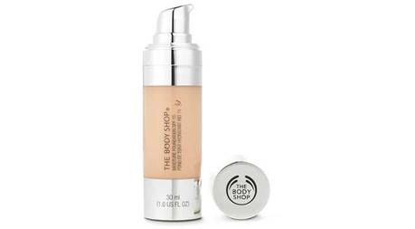 The Body Shop Moisture Foundation with SPF 15 (Price Rs 1295)