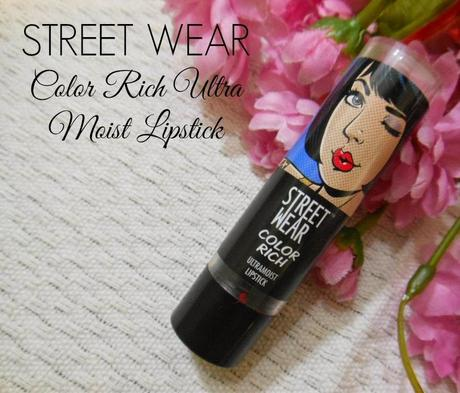 Street Wear Color Rich Ultra Moist Lipstick Fire Your Ex (01) : Review, Swatch, FOTD