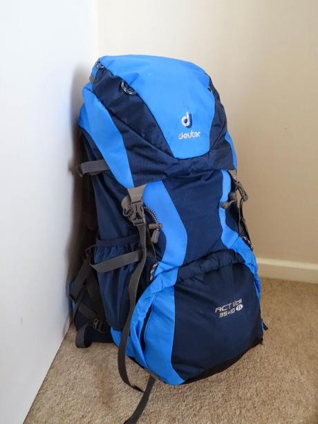 My European Adventure - The Backpack