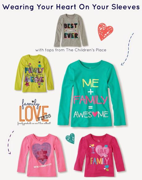 Wearing Your Heart On Your Sleeve - The Children's Place