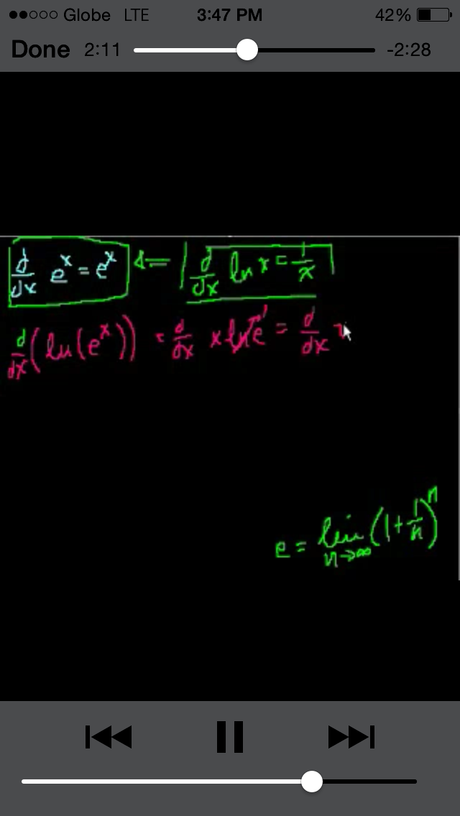 Best Mathematics Apps for students taking up Engineering and B.S. Math | Part 2 (Khan Academy Calculus App)