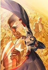All-New Captain America #1 Cover - Ross Variant