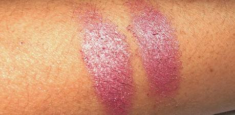 Essence Metal Glam Eye Shadow Frosted Apple Swatches
