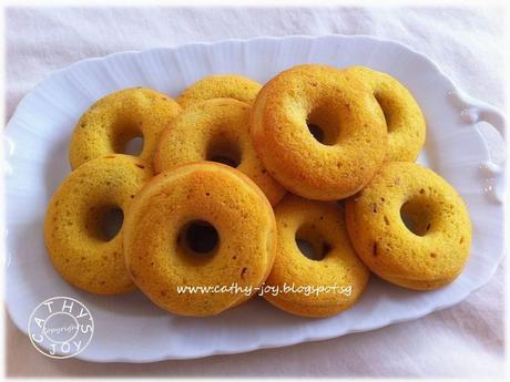 Mini Pumpkin Doughnuts