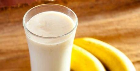 Indian Diet Plan - Milk and Banana