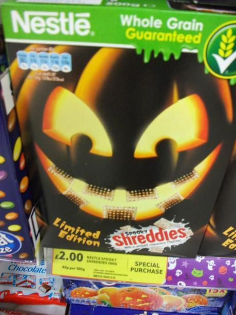 Halloween Stuff: Tesco Slime Cookies, Chocolate Skulls, Krispy Kreme Lime, etc