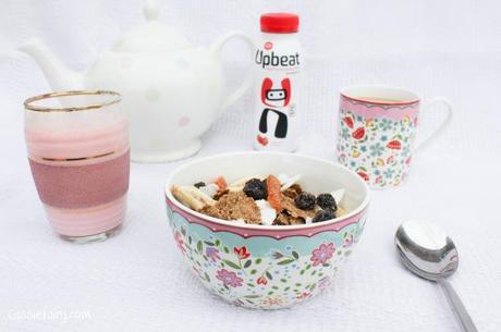 Upbeat protein drink breakfast