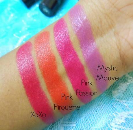 Street Wear Color Rich Ultra Moist Lipstick Pink Passion (11) : Review, Swatch, FOTD