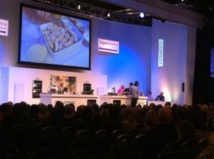 BBC  good food show paul Hollywood and Mary berry