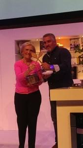 Paul Hollywood and Mary berry bbc good food show scotland