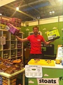 Bbc good food show Glasgow stoats