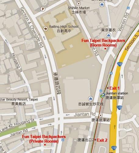 Taipei Accommodation: Fun Taipei Backpackers
