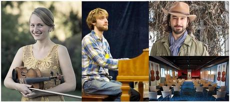 The Katie McNally Trio featuring Neil Pearlman and Shauncey Ali at Carriage House Violins, 11/6
