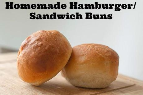 Perfect Homemade Hamburger Buns