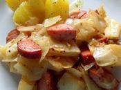 Smoked Sausage Cabbage Skillet Supper