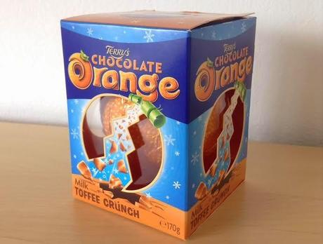 *It's back!* Terry's Chocolate Orange Toffee Crunch (Guest Review by William)