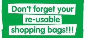 Shopping bag charge