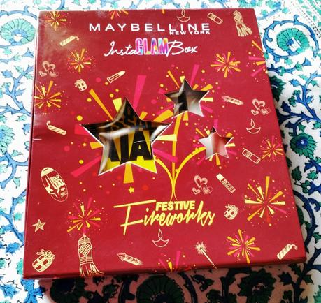Maybelline Festive Fireworks InstaGlam Box
