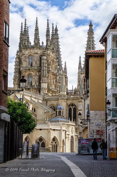Endless suburbs of Burgos